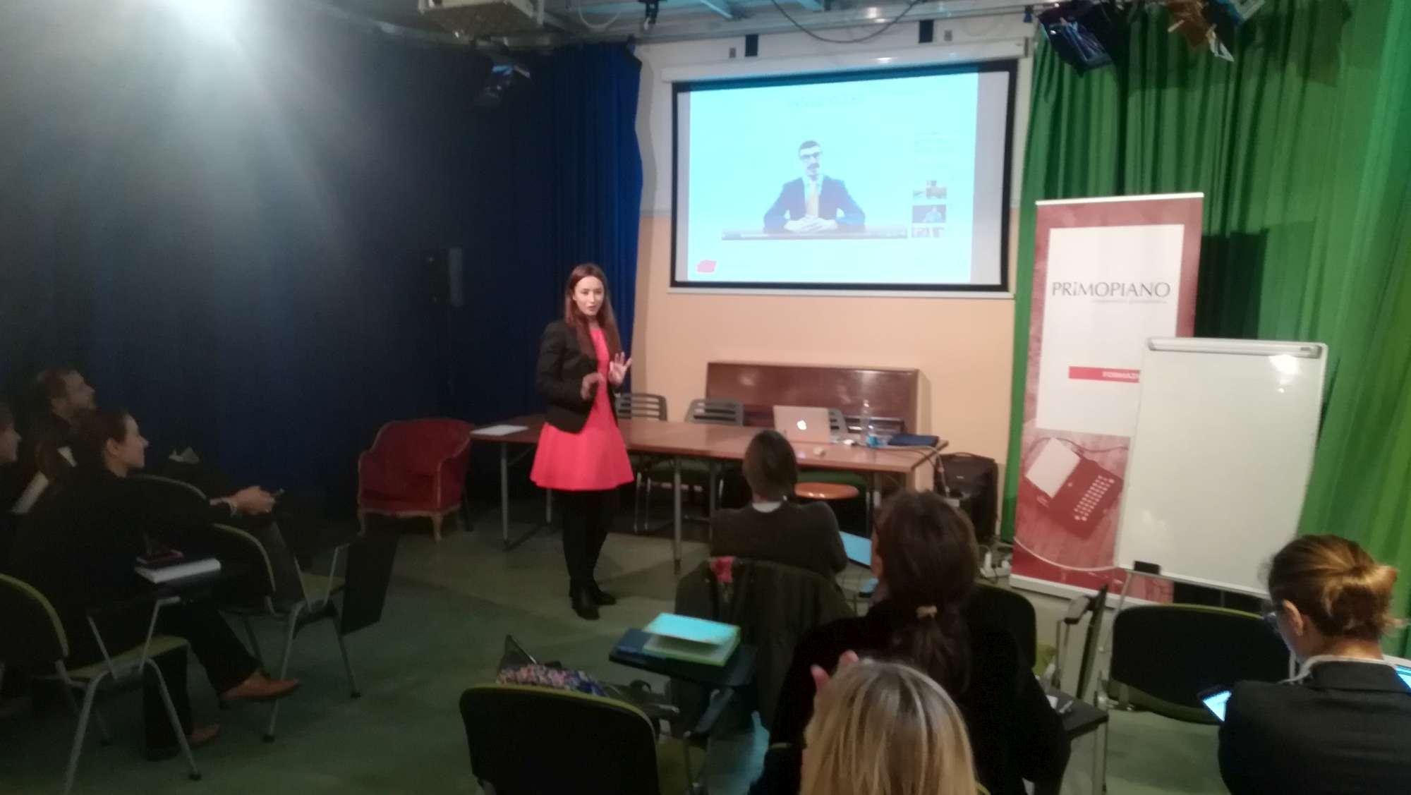 Martina Ricci Gori corso Digital PR