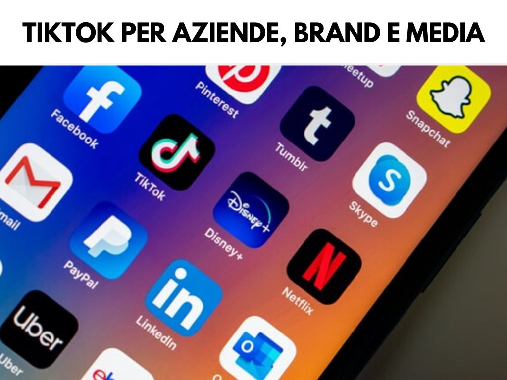 corso tiktok per aziende brand e media a milano