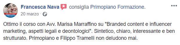 Recensione Francesca Nava